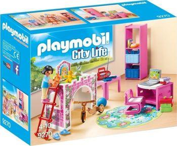 Picture of Playmobil City Life Μοντέρνο Παιδικό Δωμάτιο 9270