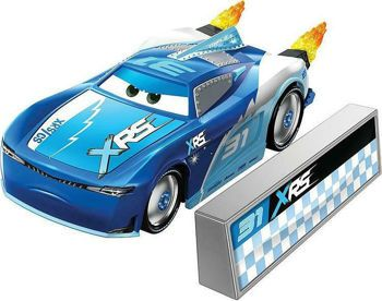 Picture of Mattel Disney Pixar Rocket Racing Cam Spinner With Blast Wall GKB93/ GKB87
