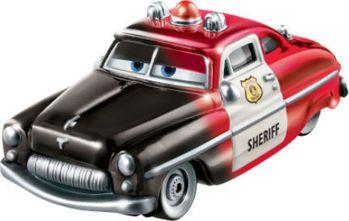 Picture of Mattel Disney Pixar Cars Color Changer Sheriff Diecast Car GNY94 / GTM39