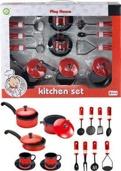 Picture of Zita Toys Σετ Κουζίνα Με Σκεύη 5810