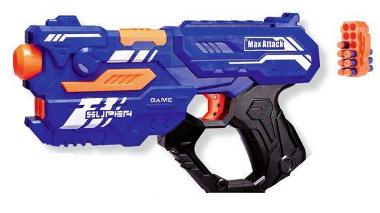 Picture of Max Attack Όπλο Εκτόξευσης Eva Bullets 9002A-5