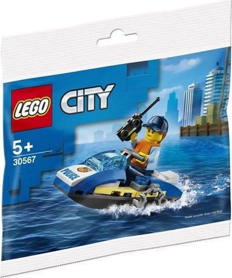 Picture of Lego City Police Water Scooter Bag 30567