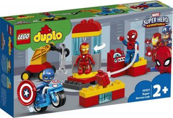 Picture of Lego Duplo Super Heroes Lab 30τεμ. (10921)