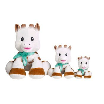 Picture of Sophie la Girafe Sweety Sophie Collection Βελούδινη Σόφι Μεσαία 20εκ (S010336)