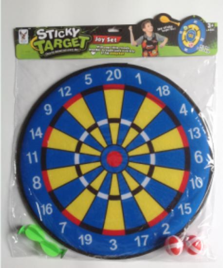 Picture of Zita Toys Στόχος Με Αυτοκόλλητα Μπαλάκια 007KC