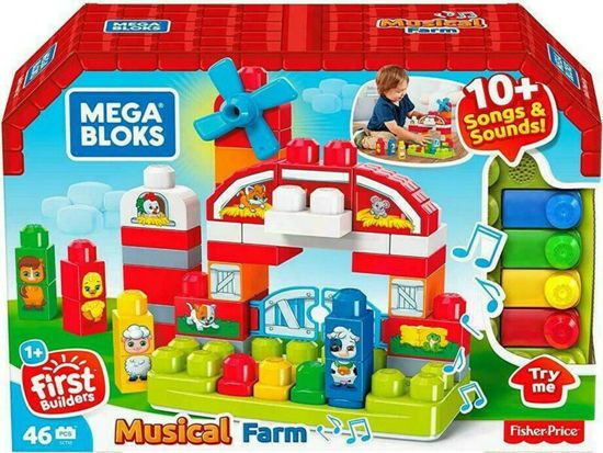 Picture of Mattel Mega Blocks Μουσική Φάρμα GCT50