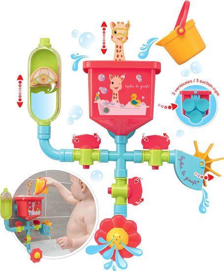Picture of Sophie La Giraffe Παιχνίδι Μπάνιου Αστεία Υδραυλικά