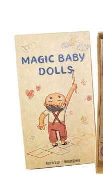 "Picture of Lamagik Magic Baby Χειροποίητη Κούκλα 30εκ. ""Betty Pelo Largo"" 31200"