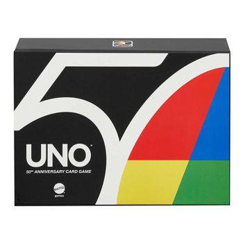 Picture of Mattel Uno Premium 50th Anniversary Card Game GXJ94