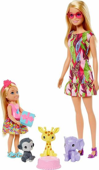 Picture of Mattel Barbie And Chelsea Κατοικίδια Και Αξεσουάρ GTM82