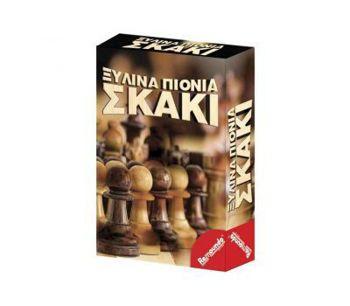 Picture of Remoundo Πιόνια Σκάκι Ξύλινα Σε Κουτί