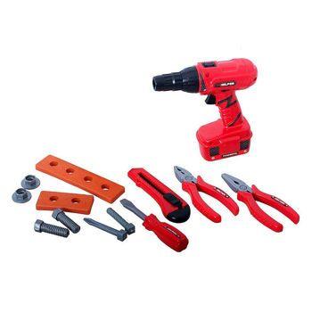 Picture of Zita Toys Βαλιτσάκι Με Τρυπάνι Μπατάριας Και Εργαλεία