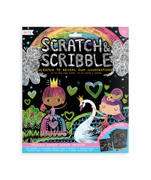 Picture of Ooly Scratch Scribble Art Kit Princess 161-038