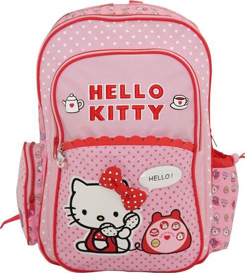 "Picture of Graffiti Σχολική Τσάντα Δημοτικού Πλάτης ""Hello Kitty Phone"""