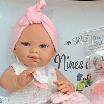 Picture of Nines D'Onil Ισπανική Κούκλα Μωρό Star Με Κουβέρτα Και Σετ Φαγητού