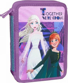 Picture of Diakakis Κασετίνα Γεμάτη Διπλή Frozen 2 Together We Are Strong