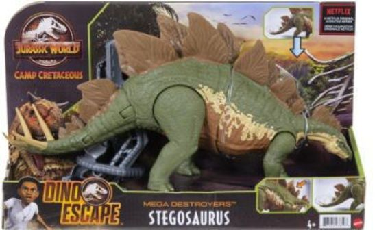 Picture of Jurassic World Stegosaurus Δεινόσαυρος Με Λειτουργία Πολλαπλής Επίθεσης (GWD60/GWD62)