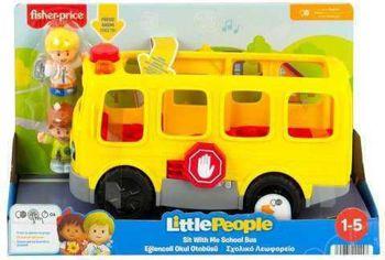 Picture of Fisher-Price Little People Σχολικό Μιλάει Ελληνικά HDJ25