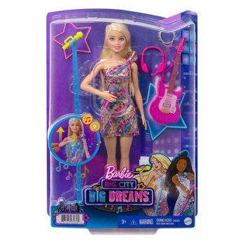 Picture of Mattel Barbie Big City-Big Dreams Malibu Roberts Με Μουσική Και Φώτα GYJ23