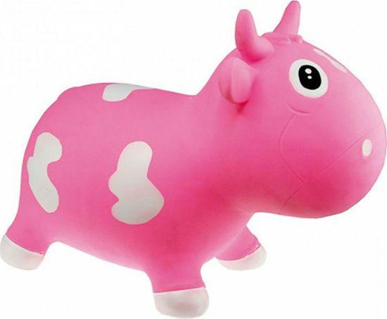 Picture of Kidzzfarm Bella The Cow Αγελαδίτσα Χοπ Χοπ Φούξια 150504