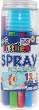 Picture of The Littlies 12 Spray Μαρκαδόροι