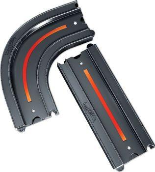 Picture of Mattel Hot Wheels Αξεσουάρ Σύνδεσης Πιστών 1 Καμπυλωτή Και 1 Ευθεία Διαδρομή (FXM38/FXM40)