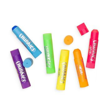 Picture of Ooly Σετ 6 Chunkies Paint Sticks Neon