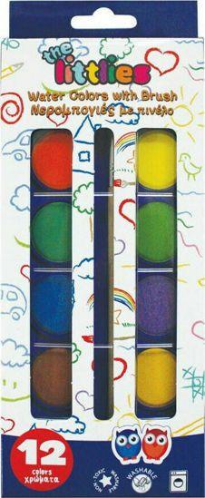Picture of The Littlies Νερομπογές 12 Χρώματα