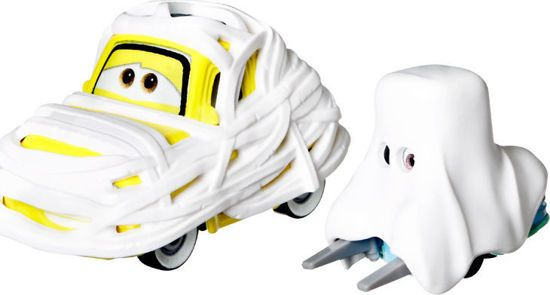 Picture of Mattel Disney & Pixar Cars Mummy Costume Luigi & Ghost Costume Guido DXV29/GTN55