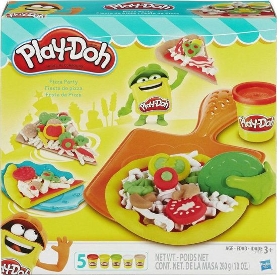 Picture of Hasbro Play-Doh Πλαστελίνη Kitchen Creations Pizza Party B1856