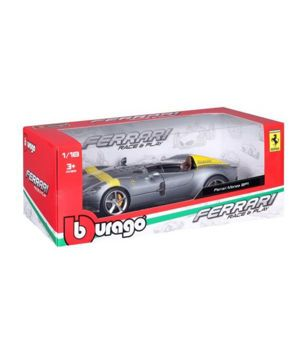 Picture of Bburago Ferrari Race And Play Monza Sp1 Silver 1:18 (16013)
