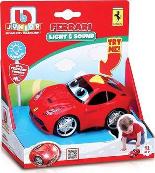 Picture of Bburago Junior Ferrari Παιδικό Αυτοκινητάκι Με Φώτα Και Ήχους (81000)