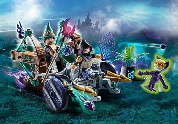 Picture of Playmobil NovelMore Άμαξα Mε Κυνηγό Τεράτων 70748