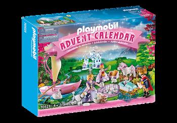 Picture of Playmobil Christmas Ημερολόγιο Χριστουγεννιάτικο Βασιλικό Πικνίκ (70323)
