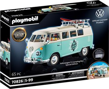 Picture of Playmobil Volkswagen T1 Camping Bus Limited Edition Collectible 70826
