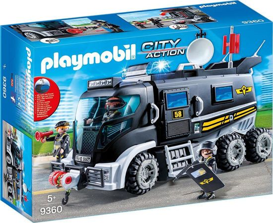 Picture of Playmobil City Action Θωρακισμένο Όχημα Ομάδας Ειδικών Αποστολών 9360