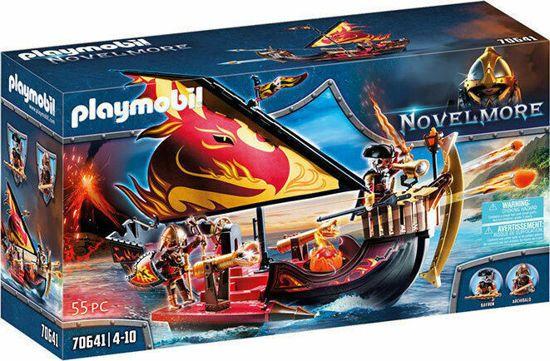 Picture of Playmobil Novelmore Πλοίο Tης Φωτιάς Του Burnham 70641