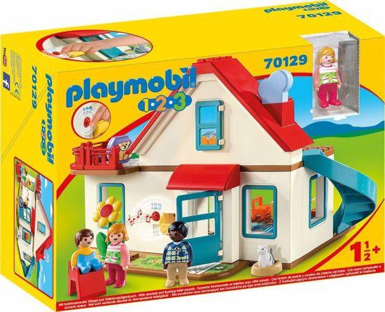 Picture of Playmobil 1.2.3. Επιπλωμένο Σπίτι 70129