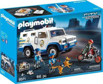 Picture of Playmobil City Action Όχημα Χρηματαποστολής 9371