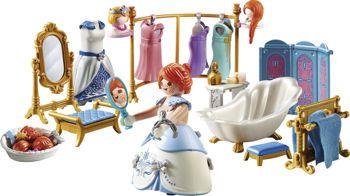 Picture of Playmobil Princess Πριγκιπικό Λουτρό Με Βεστιάριο (70454)