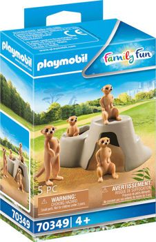 Picture of Playmobil Family Fun Σουρικάτες 70349