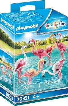 Picture of Playmobil Family Fun Κοπάδι φλαμίνγκο 70351