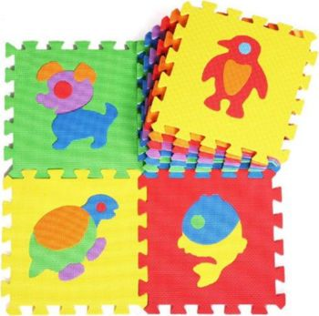 Picture of Zita Toys Puzzle Δαπέδου Με Ζώα 10 Τεμάχια