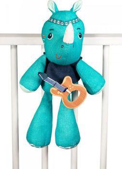 Picture of Lilliputiens Πάνινος Μουσικός Ρινόκερος Μάριους