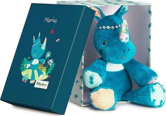 Picture of Lilliputiens Μάριους Ο Ρινόκερος Λούτρινο Μαλακό Σε Κουτί Δώρου