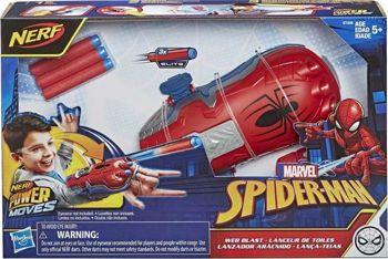 Picture of Hasbro Nerf Power Moves Marvel Spider-Man Web Blast Web Shooter Εκτοξευτής (E7328)