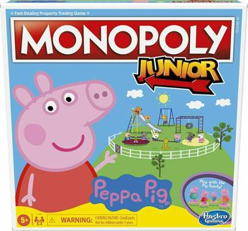 Picture of Hasbro Monopoly Junior Peppa Pig (F1656)
