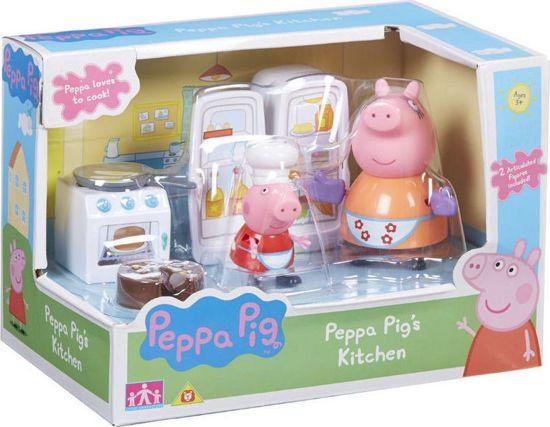 Picture of Giochi Preziosi Peppa Pig Η Κουζίνα Της Πέππα Με 2 Φιγούρες (PPC40000)