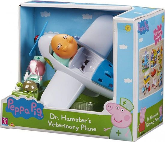 Picture of Giochi Preziosi Peppa Pig Το Αεροπλάνο Κτηνιατρείο Του Δόκτορα Χάμστερ (PPC96000)