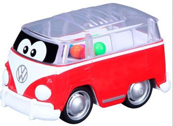Picture of Bburago Junior Volkswagen Poppin Samba Bus (2 Χρώματα)